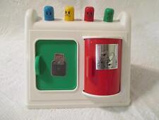 Vintage Kawada Baby Busy Box Toy Japan Triangular Activity Toy Triangular