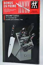 Zwilling J.A. Henckels 38662-007 Twin Tradition 15pc Knife Block Set Open Box