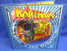 LP KARTHAGO - ROCK'N'ROLL TESTAMENT /BACILLUS 19201Q 1st PRESS. GIMMIX COVER G/F