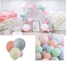 100pcs Pastel Latex Balloons 10 Inches Assorted Macaron Candy Colored Party Ball