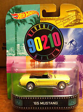 Hotwheels  RETRO ENTERTAINMENT  Beverly Hills 90210  65' Mustang
