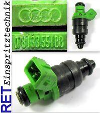 Einspritzdüse 078133551BB Audi A 6 2,4 gereinigt & geprüft