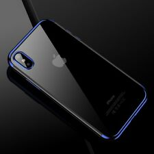 Funda protectora móvil para Apple iPhone x Transparente estuches blau