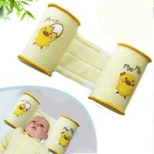 Baby Crib Infant Baby Toddler Safe Soft Cotton Anti Roll Sleep Use Pillow J8R7