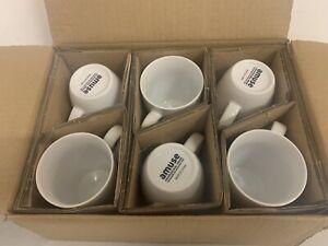 Amuse Professional Barista Cozy Collection Coffee Mug Set of 6 Medium 12 Oz X23