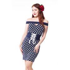 Poizen Rockabella Kim dress rockabilly 50s corset pin up XL UK 16