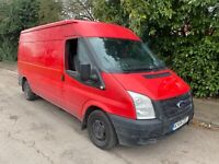 2014 FORD TRANSIT 125 T300 FWD MWB - NO VAT - ENGINE KNOCKING