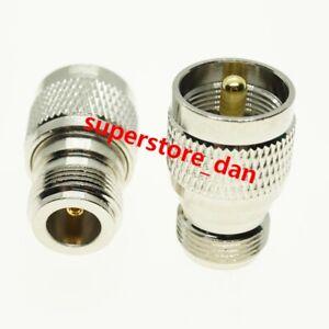 1Pcs UHF PL259 PL-259 Male Plug to N Type Female Jack RF Connector Adapter