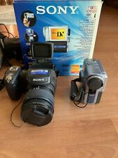 sony dsc-r1 Camera and Dcr-PC9E Digital Handycam