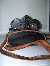VINTAGE Wetzlar PERA 8x30 Binoculars w/ Leather Case and Strap from Germany