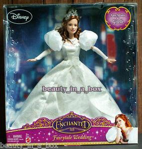 Giselle Doll Enchanted Fairytale Wedding Disney Amy Adams Movie Bride G Barbie