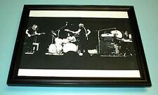 1980's Pink Floyd Framed In Concert B&W Print
