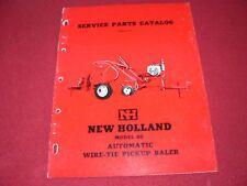 New Holland 80 Hay Baler Dealer's Parts Book WPNH