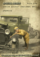 1/35 Scale Armor35 -Soviet driver (1941-1943) WWII
