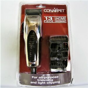 Conair 13-Piece Pet Dog Grooming Clipper Kit NEW
