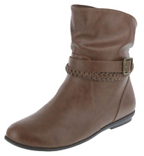 AMERICAN EAGLE RACHEL Women's Shoes ANKLE BOOTS Rain WINTER BUCKLE Size 7 NEW