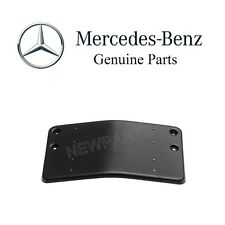 Mercedes W211 E320 E350 E550 E63 AMG Front License Plate Base Moulding Genuine