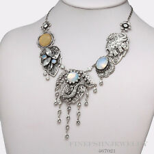 Authentic Pilgrim Jewelry Silver Crystal Necklace 467021