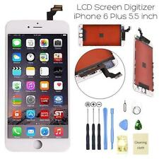 "New iPhone 6 Plus 5.5"" White LCD Digitizer Screen Assembly Replacement Frame USA"