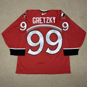 Vintage Wayne Gretzky Team Canada 1998 Nagano Olympics Nike Hockey Jersey Medium