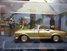 ALTAYA MERCEDES 280 SL cabriolet Le Festival  N7 Route Bleu CANNES ANTIBES 1:43