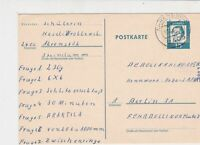 Germany 1965 Obligatory Tax Aid for Berlin Ahrensbok Cancel Stamps Card Ref23518