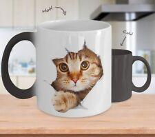 3D Cat - Color Changing - 11OZ Coffee Mug