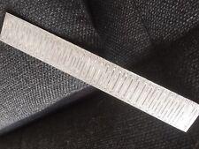 Edelstahl Damastplatte Damaststahl Rohstahl Damast Damaststahlplatte Messer