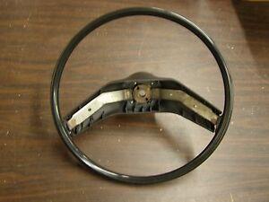 Original 1974 1979 Ford Torino LTD Granada Mustang II Cougar Steering Wheel Blk