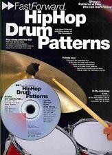 Fast Forward: Hip Hop Drum Patterns by Clive Jenner, Dave Zubraski (Paperback, …