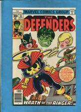 The Defenders #51 Marvel Comics September 1977