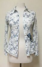 Los Angeles Guess Jeans Genuine Quality Blouse Long Sleeve Size XS Retro