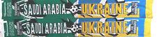 Saudi-Arabien - Ukraine Fanschal Schal Fussball Football scarf Hamburg WM06 #45