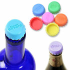 6 Pcs Silicone Bottle Caps Beer Cover Coke Soda Cola Lid Wine Saver Stopper