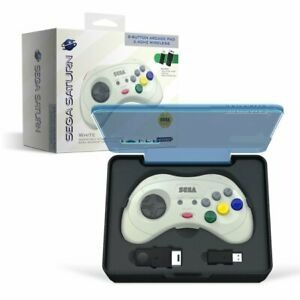 Retro-Bit Official SEGA SATURN Wireless 8-Button Gamepad Controller