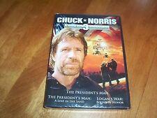 CHUCK NORRIS Three Film 3 Collector's Set Action Martial Arts Classics DVD NEW