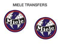 Miele Tank Transfers Decals Motorcycle Sold as a Pair D3554