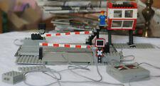 Lego Train 12V 7866 Le passage à niveau à commande électrique