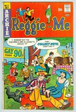 Reggie and Me #71 July 1974 VG Gay 90's Squirrel cover