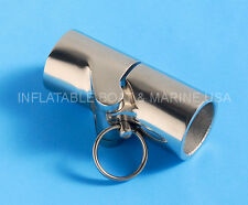 "Boat Rail Fittings-Folding Swivel Tube Pipe Connector Joint 1""  Stainless Steel"
