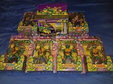 Teenage Mutuant Ninja Turtles TMNT Classic Collection DVD Bebop Rocksteady LOT