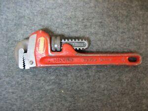 """RIDGID Heavy Duty 6"""" Steel Pipe Wrench"""
