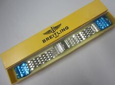 New Breitling Stainless Steel Watch Bracelet Band 20mm End Links Pins 16mm Clasp