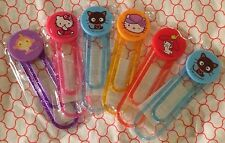 NEW San Rio Character Large Paper Clips Chococat/Hello Kitty/My Melody +