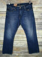 NWT Mens Polo Ralph Lauren The Bootcut Jeans 34x30
