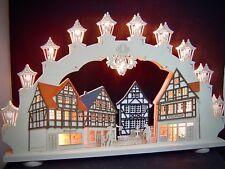 2D Arc Arc lumineux 66 x 41 cm 15 LUMIÈRES Vieille Ville BOUCHERIE 10557