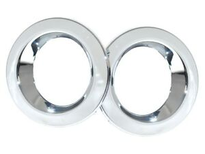LAND ROVER RANGE ROVER HSE L322 FULL SIZE 2006-2009 FOG LIGHT BEZELS PAIR CHROME