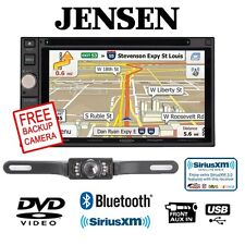 "Jensen Vx7020 6.2"" Dvd Receiver w/ Sv5130Ir License Plate Backup Camera"