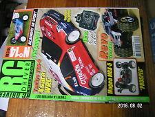 1?µ µ? Revue RC Driver n°14 CEN Genesis 46 Academy SB Sport Mugen MBX-5 Prospec