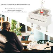 Classical Clockwork Rotary Piano Dancing Ballerina Music Box Kid Gift Home Decor